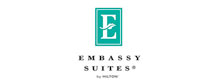 Image of the Embassy Suites Hilton logo