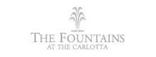Image of the The Fountain at the Carlotta logo