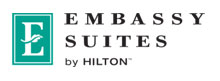 Image of the Embassy Suites Hilton logo
