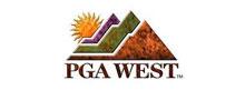 Image of the PGA West logo